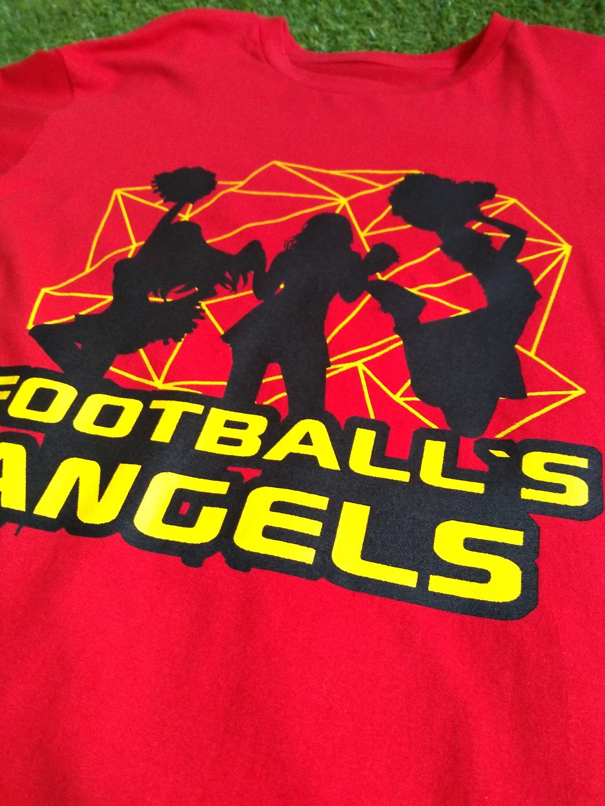 CAMISETA FOOTBALL ANGEL'S RED