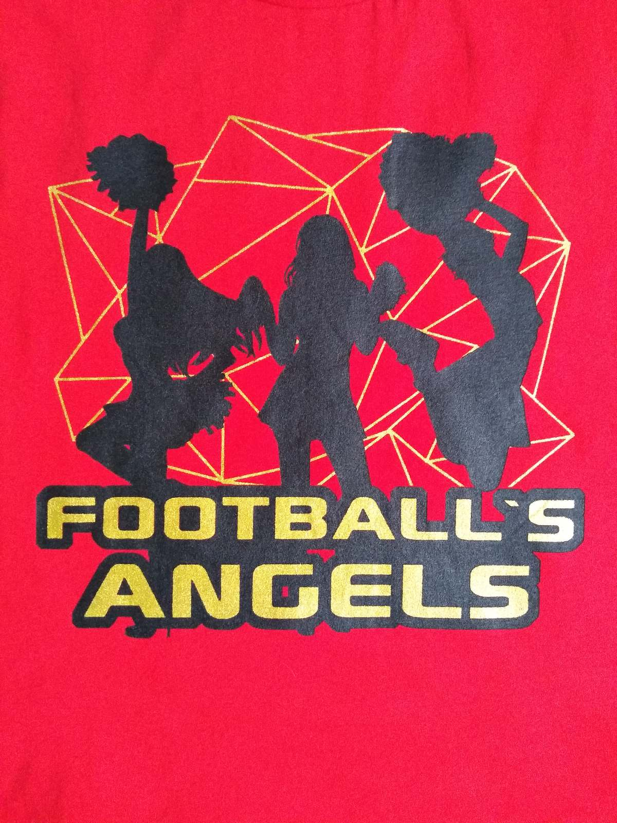 CAMISETA FOOTBALL ANGEL'S RED FEM
