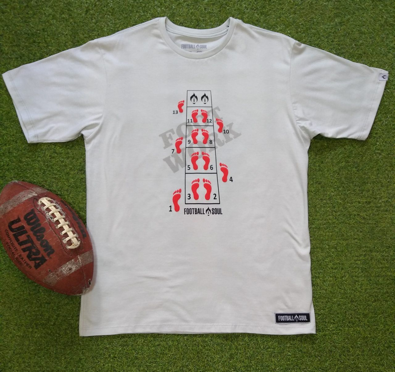 CAMISETA  FOOTBALL SOUL FOOT WORK