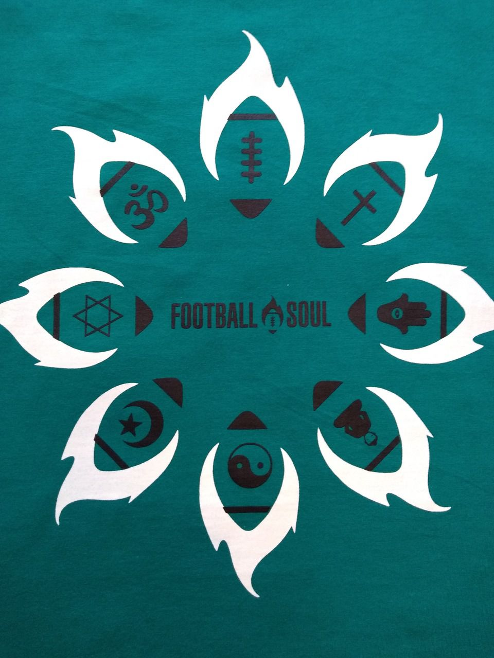 CAMISETA FOOTBALL SOUL MANDALA