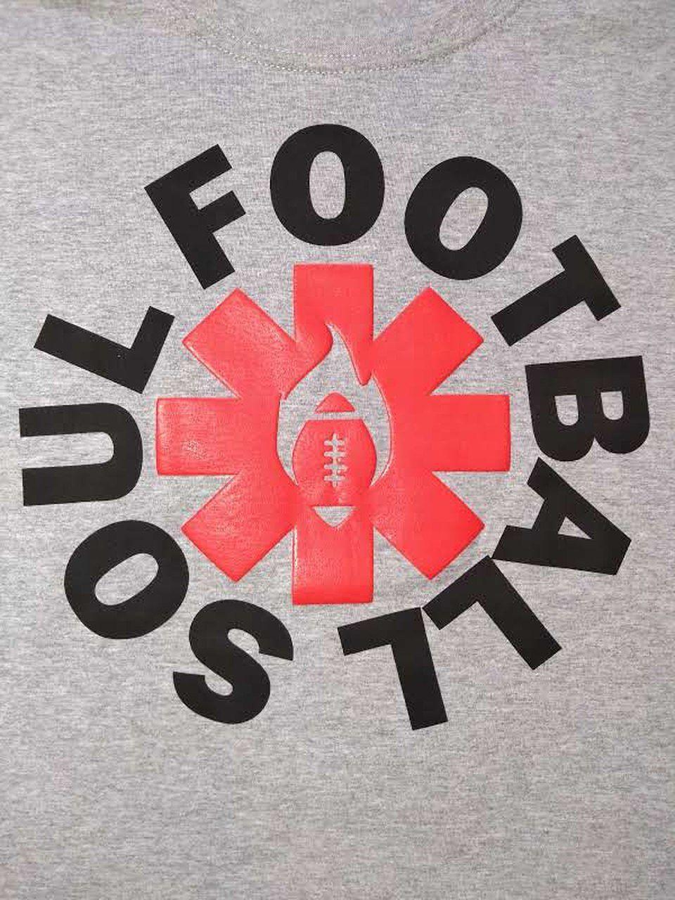 CAMISETA FOOTBALL SOUL RED HOT