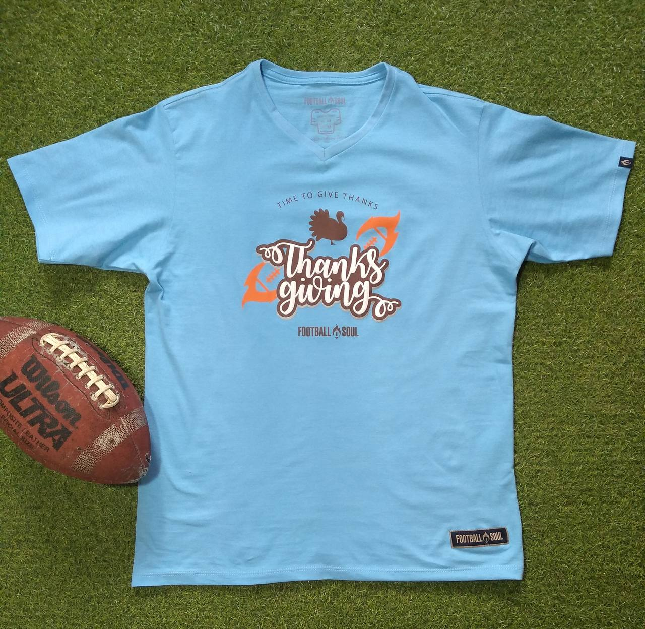 CAMISETA FOOTBALL SOUL THANKSGIVING