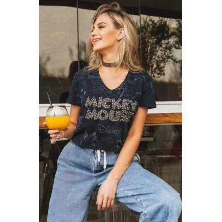 Camiseta Gola V Mickey