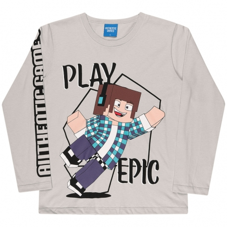 Camiseta Manga Longa Authentic Games Play Epic