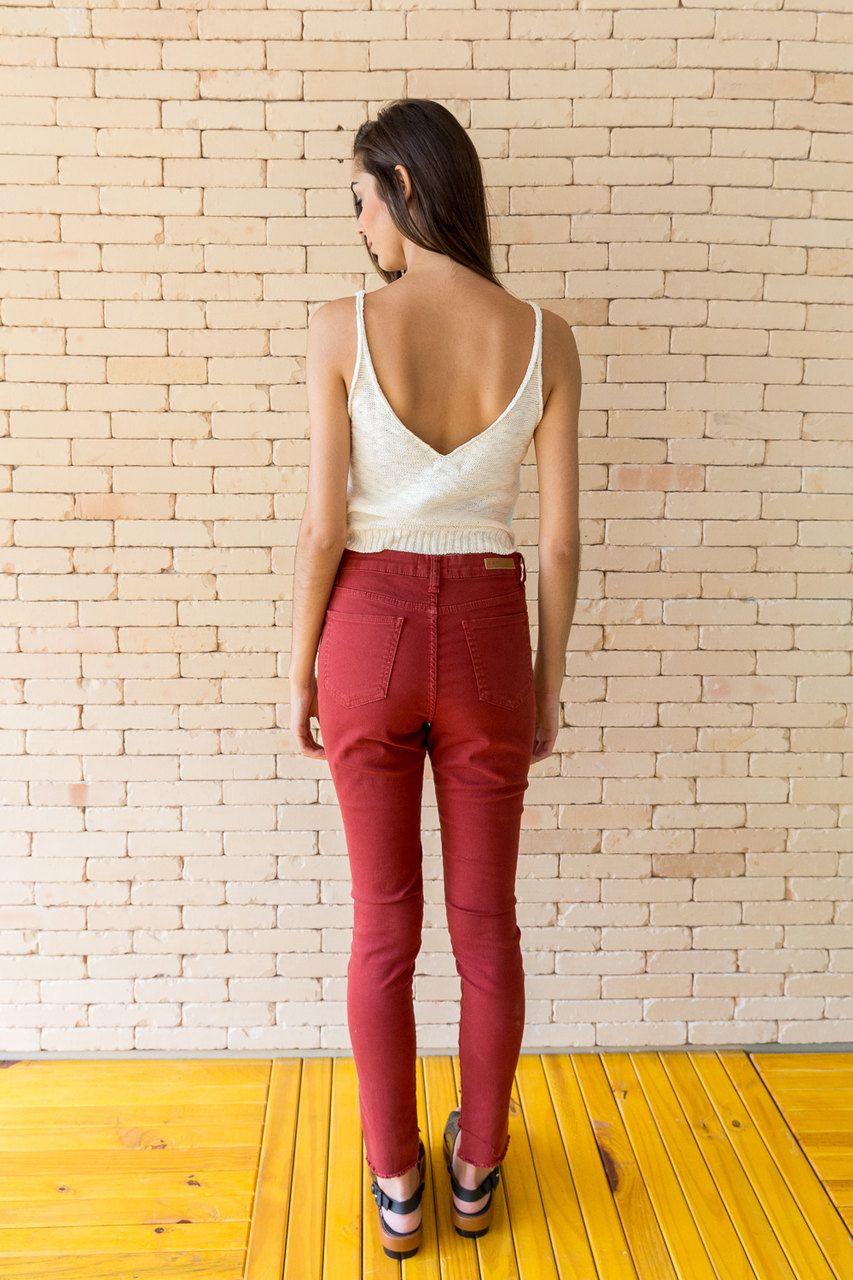 Calça Jeans Color Skinny