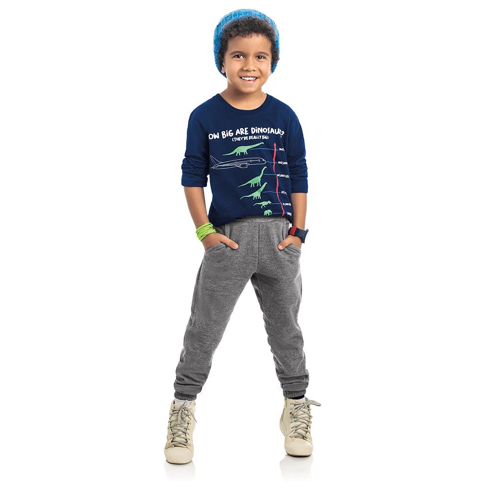Calça Moletom Infantil Masculina
