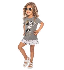 Camiseta Infantil Minnie