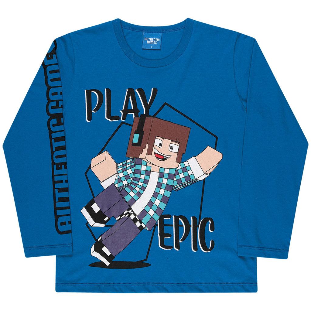 Camiseta Manga Longa Authentic Games Play Epic