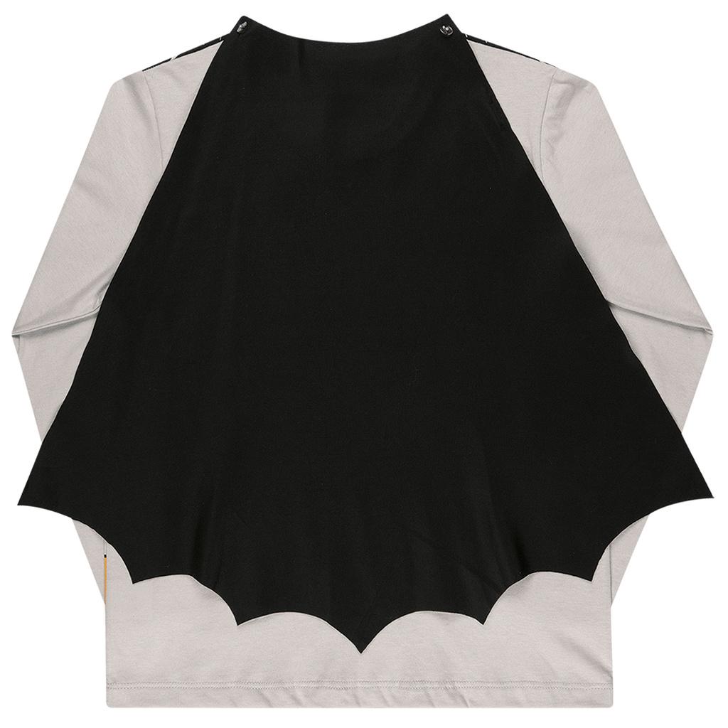 Camiseta Manga Longa Batman com Capa