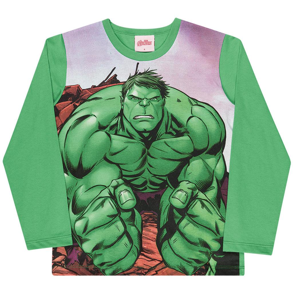 Camiseta Manga Longa Vingadores