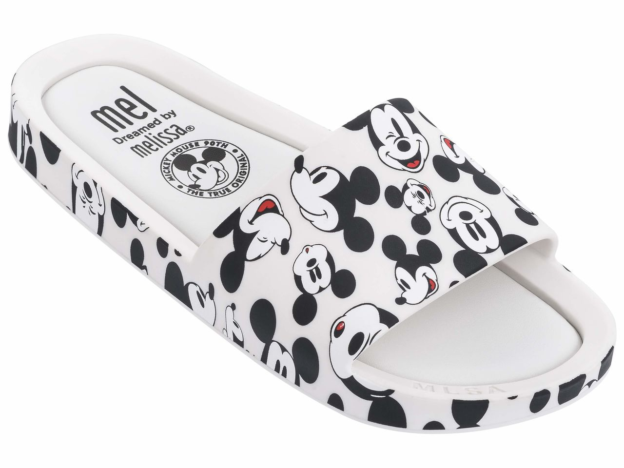 Chinelo Infantil Melissa MEL BEACH SLIDE + MICKEY AND FRIENDS