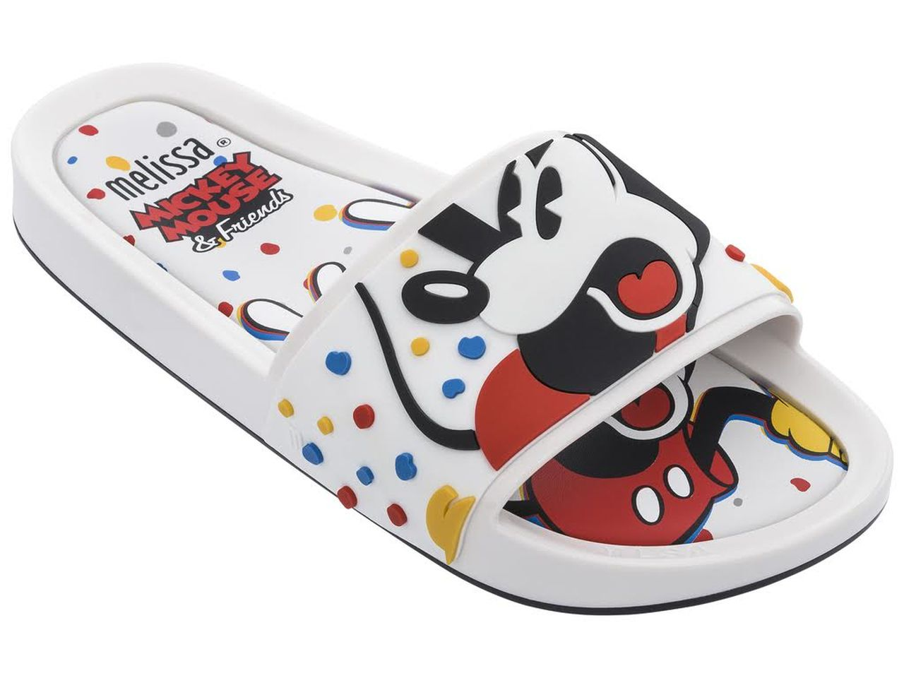 Chinelo MELISSA BEACH SLIDE + MICKEY AND FRIENDS II