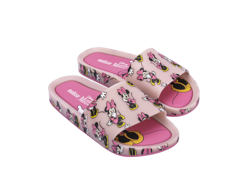 Chinelo MELISSA BEACH SLIDE + MICKEY AND FRIENDS III