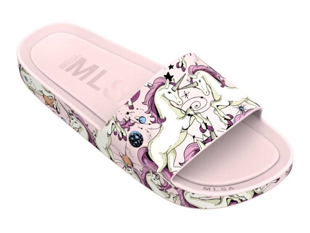 Chinelo Melissa BEACH SLIDE 3DB RAINBOW