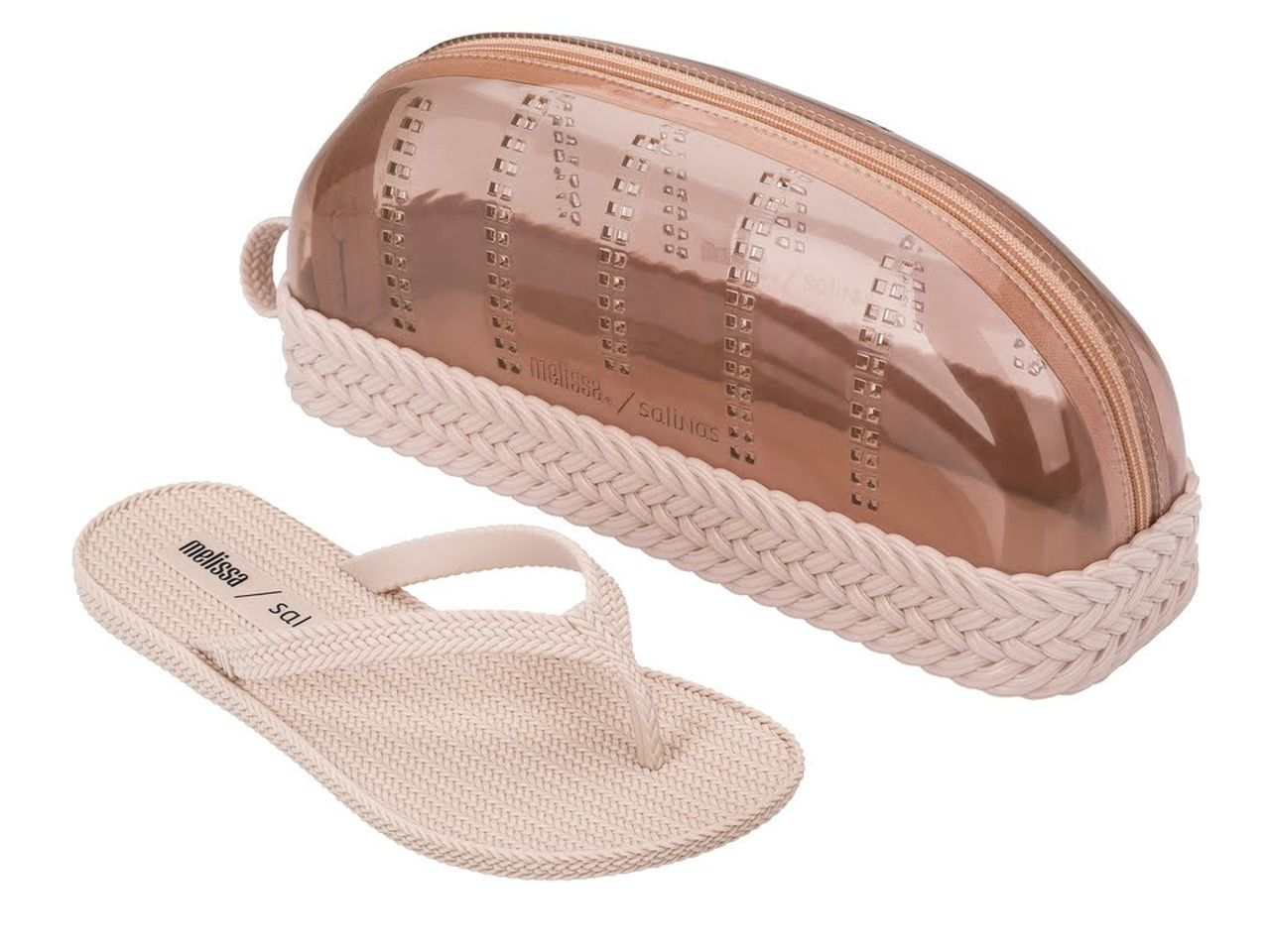 Chinelo Melissa BRAIDED SUMMER + SALINAS