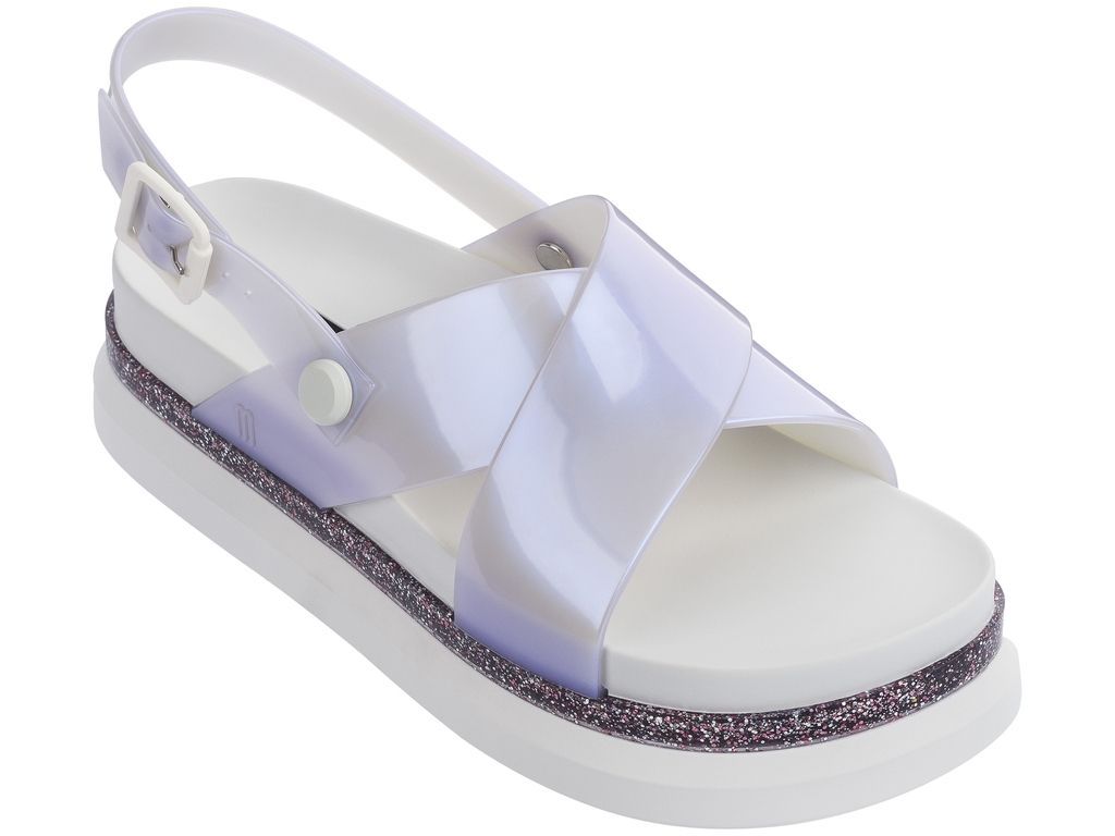 Chinelo Melissa COSMIC SANDAL II + AWAY TO MARS