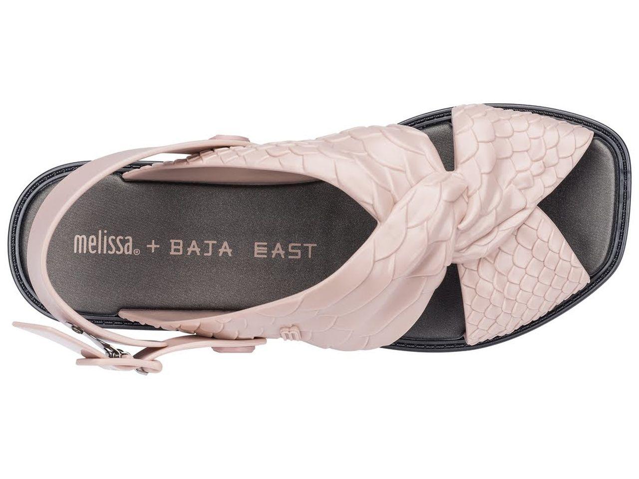Sandália MELISSA SAUCE SANDAL + BAJA EAST