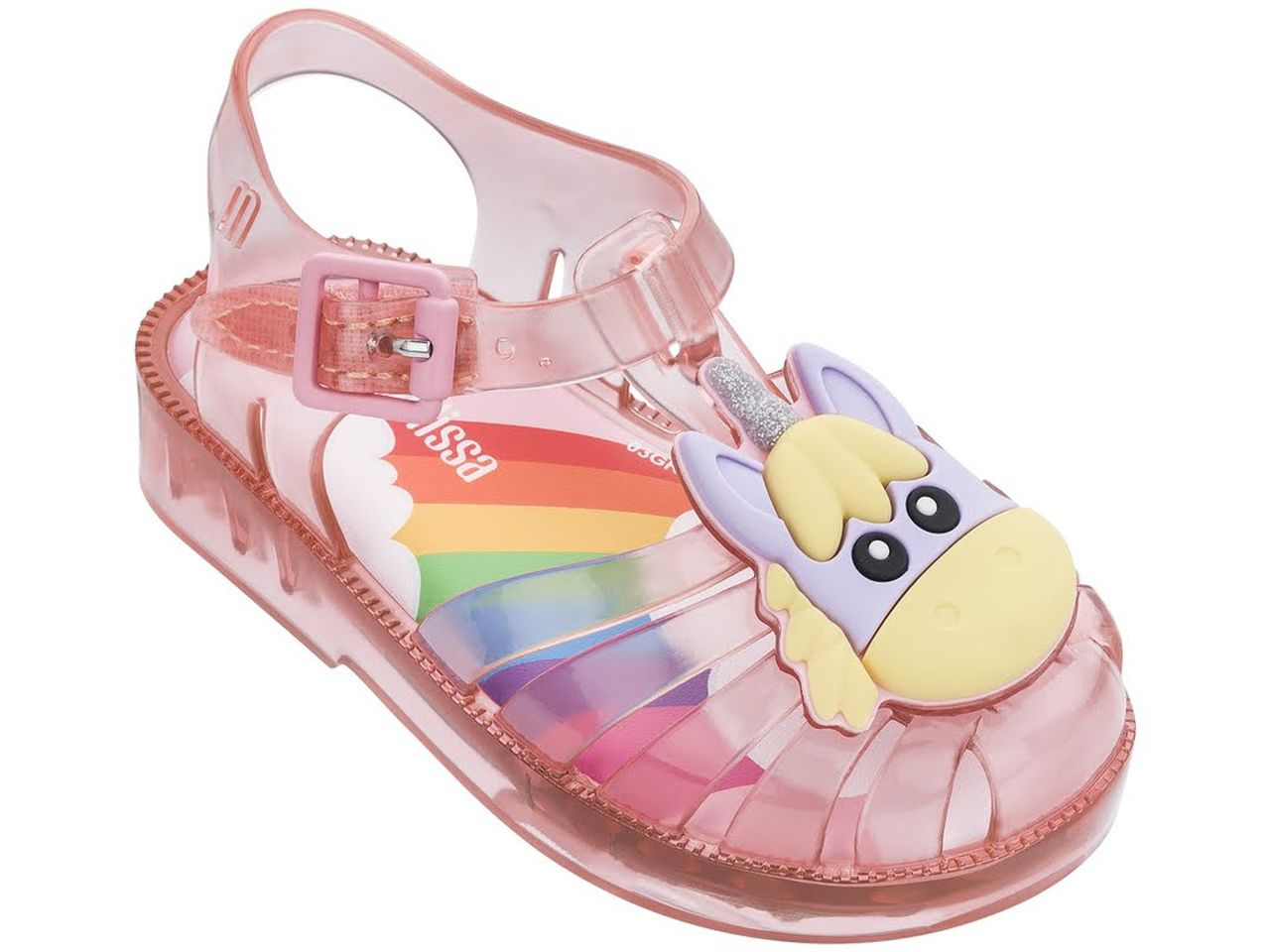 Sandália Infantil Melissa MINI POSSESSION UNICORN