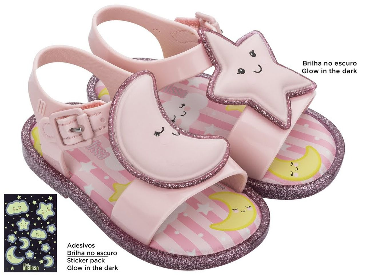 Sandália Infantil MINI MELISSA MAR SANDAL SWEET DREAMS