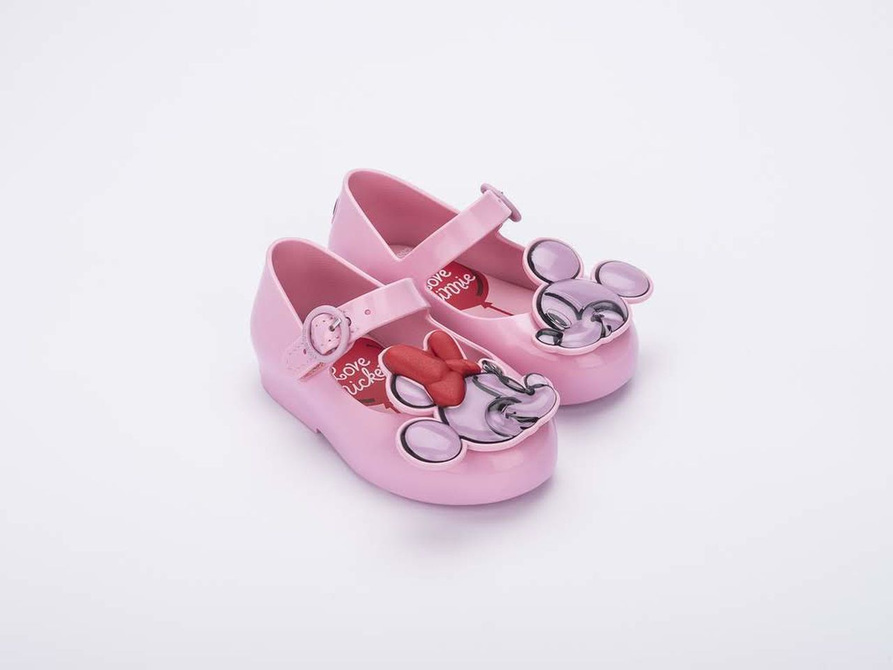 Sapatilha Infantil MINI MELISSA SWEET LOVE + MICKEY AND FRIENDS BABY