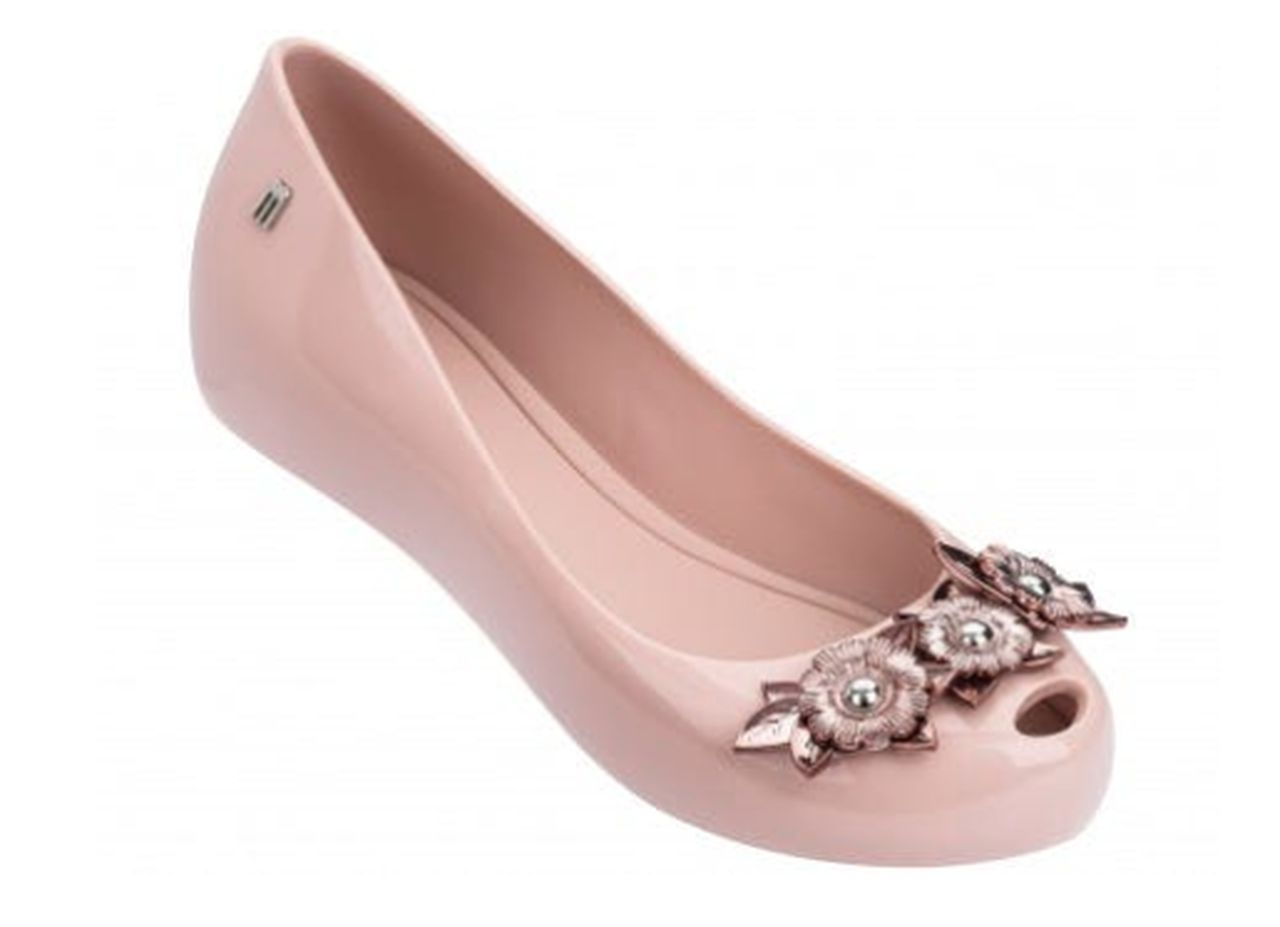 Sapatilha Melissa ULTRAGIRL FLOWER CHROME