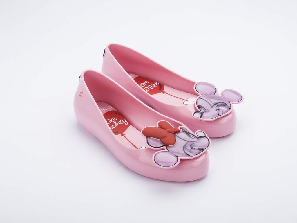 Sapatilha MINI MELISSA SWEET LOVE + MICKEY AND FRIENDS INFANTIL