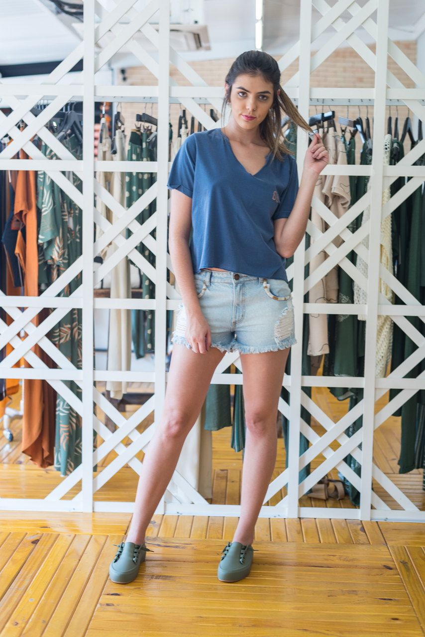 T-Shirt Cropped CAMELO