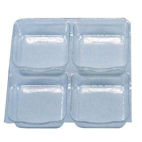 Berço Plástico c/ 4 cavidades c/50 un