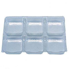 Berço Plastico c/ 6 cavidades c/50 un
