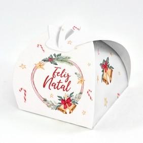Caixa Bem casado - Natal Estrela c/10 un