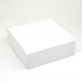 Caixa deslizante para 9 doces - Branco c/ 10 un