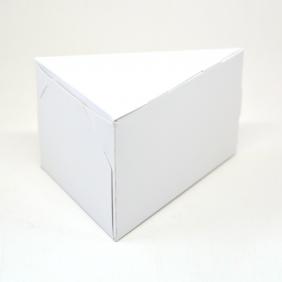 Caixa Fatia de Bolo - Branca c/100 un