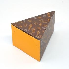 Caixa Fatia de Bolo - Outono c/50 un