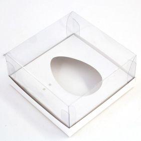 Caixa G Premium para Ovo de 100/150g - BRANCA c/ 10 un