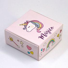 Caixa para 4 doces - Unicórnio c/10 un