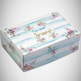 Caixa para 6 doces - Madeleine C/10 UN