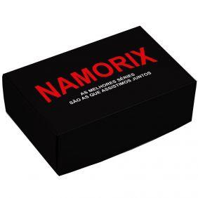 Caixa para 6 doces Namorados - Namorix c/10 un