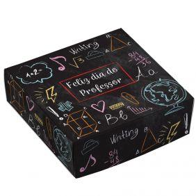 Caixa para 9 doces - Professores Lousa - C/10 un