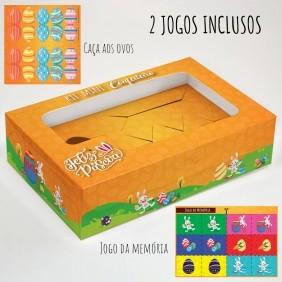 Caixa Premium Kit Mini Confeiteiro - Páscoa Aquarela C/ 10un