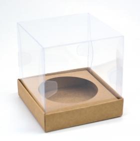 Caixa Premium Mini Panetone - kraft c/10un