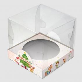Caixa Premium Mini Panetone - Natal Alegre c/10un
