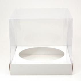 Caixa Premium para Panetone 500g - Branco c/10un