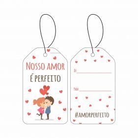 Tag - Amor Perfeito C/10 UN
