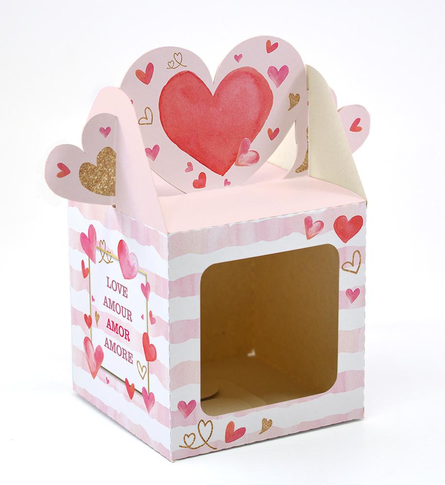 Caixa Compota Coração - Amore c/ 10 un