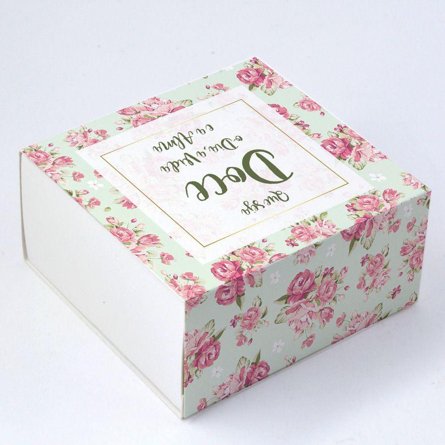 Caixa Deslizante para 4 doces - Que Seja Doce c/10 un