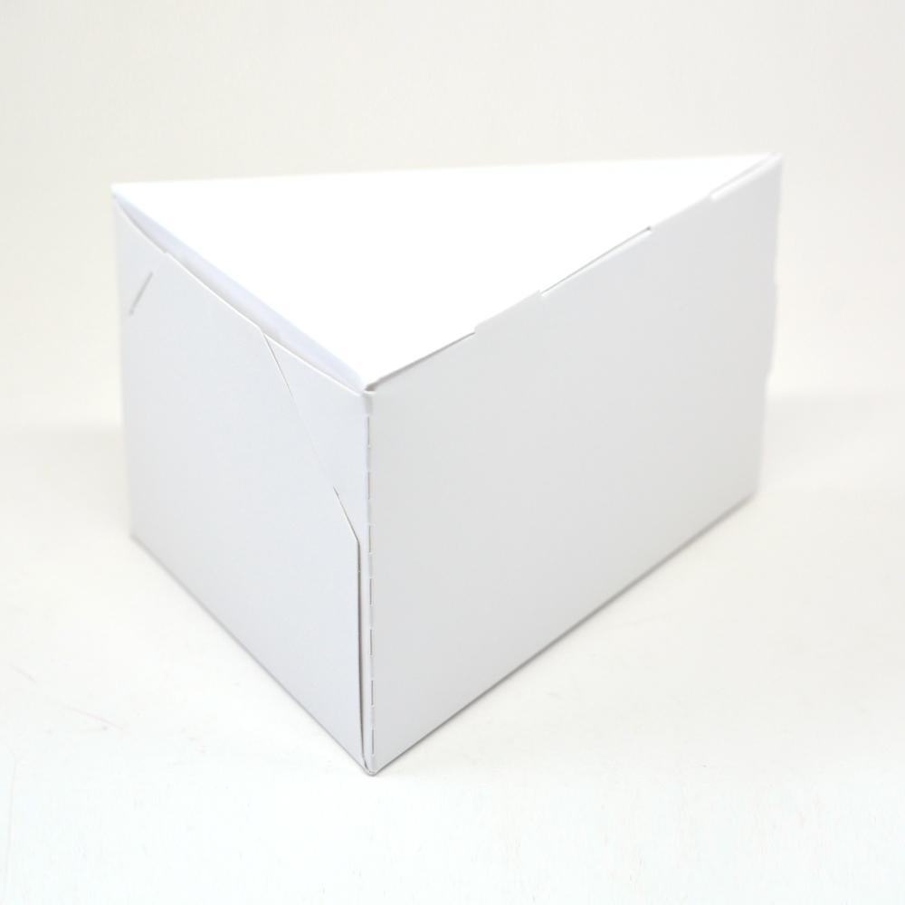 Caixa Fatia de Bolo - Branca c/50 un