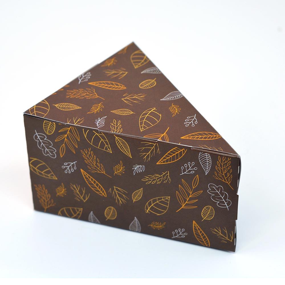 Caixa Fatia de Bolo - Outono c/100 un