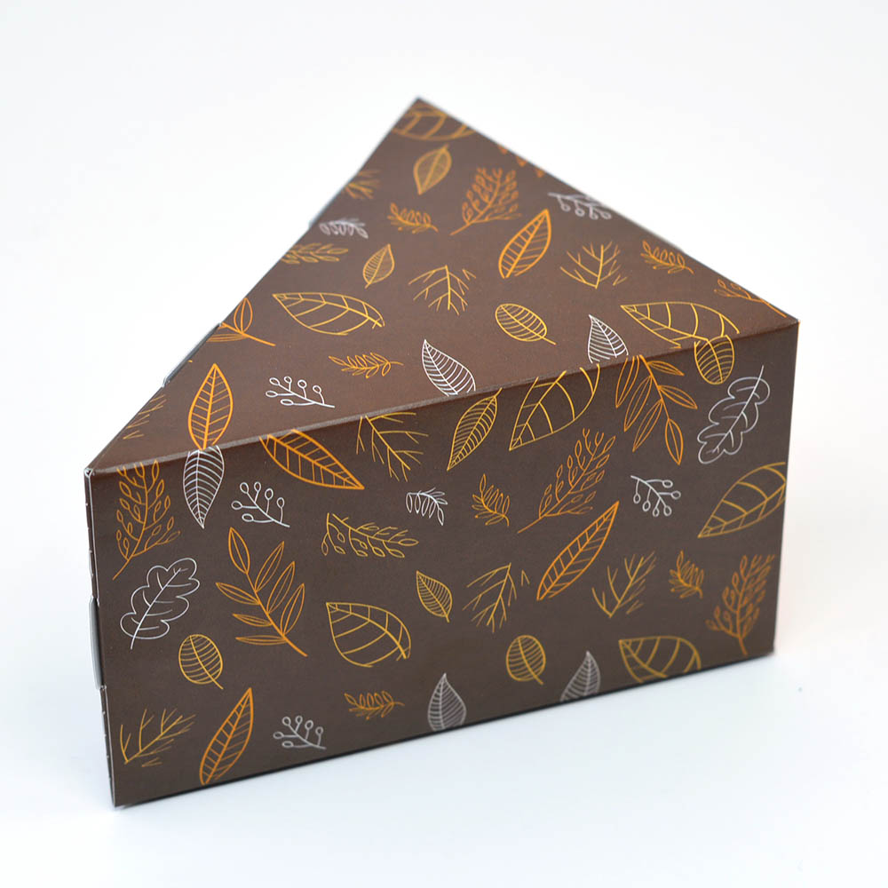 Caixa Fatia de Bolo - Outono c/25 un