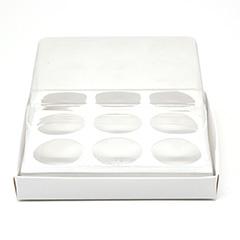 Caixa G Premium para 9 doces - BRANCA c/ 10 un