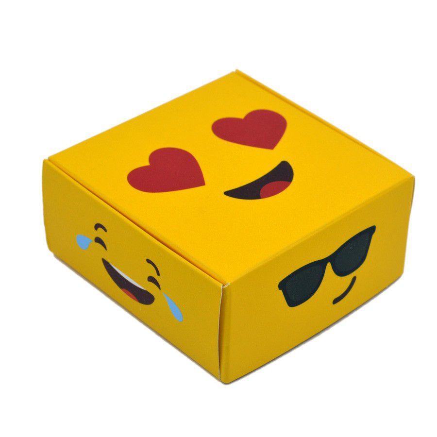 Caixa para 4 doces - Emoções C/10 UN